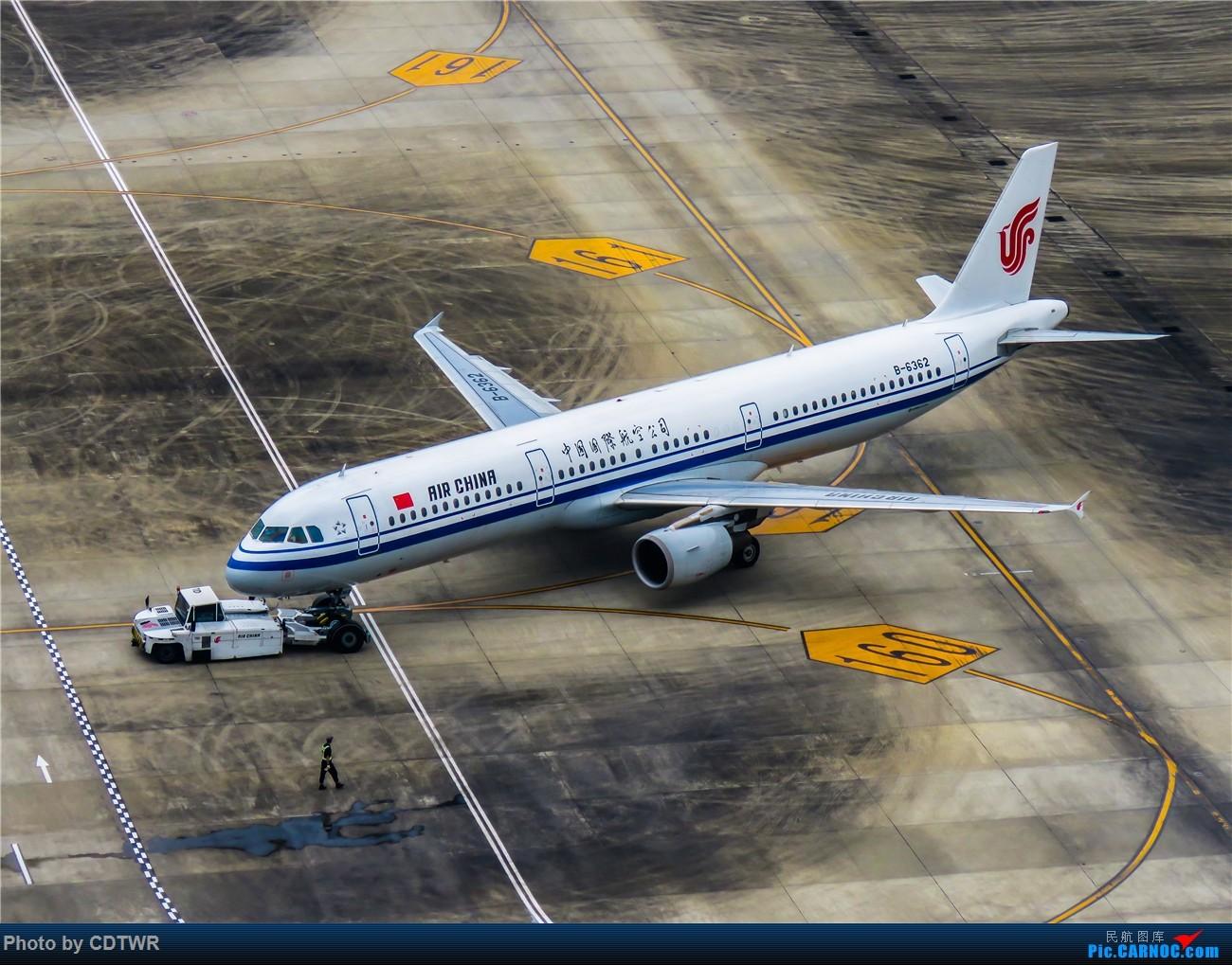 Re:[原创]换个角度拍机 成都塔台解锁 AIRBUS A321-200 B-6362 中国成都双流国际机场