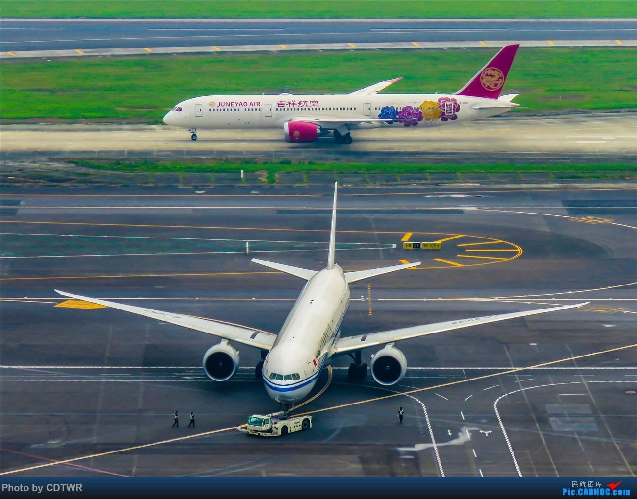 Re:[原创]换个角度拍机 成都塔台解锁 BOEING 787-9 B-209R 中国成都双流国际机场