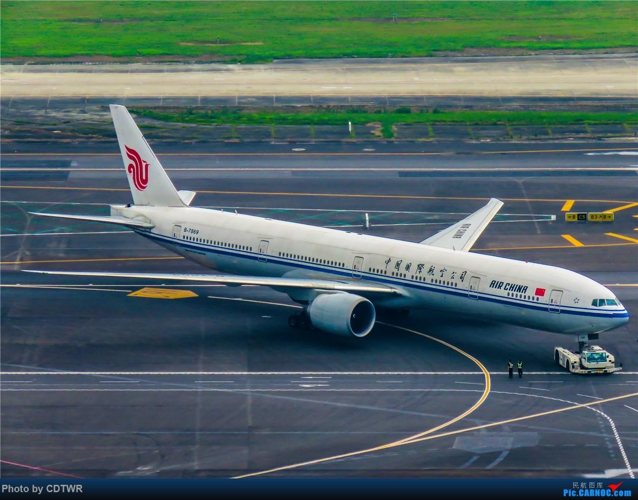 Re:[原创]换个角度拍机 成都塔台解锁 BOEING 777-300ER B-7869 中国成都双流国际机场