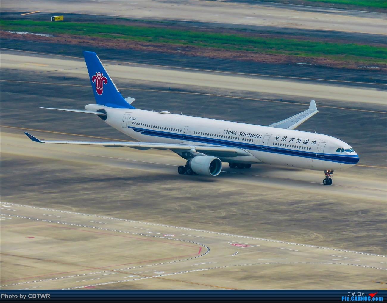 Re:[原创]换个角度拍机 成都塔台解锁 AIRBUS A330-300 B-5959 中国成都双流国际机场