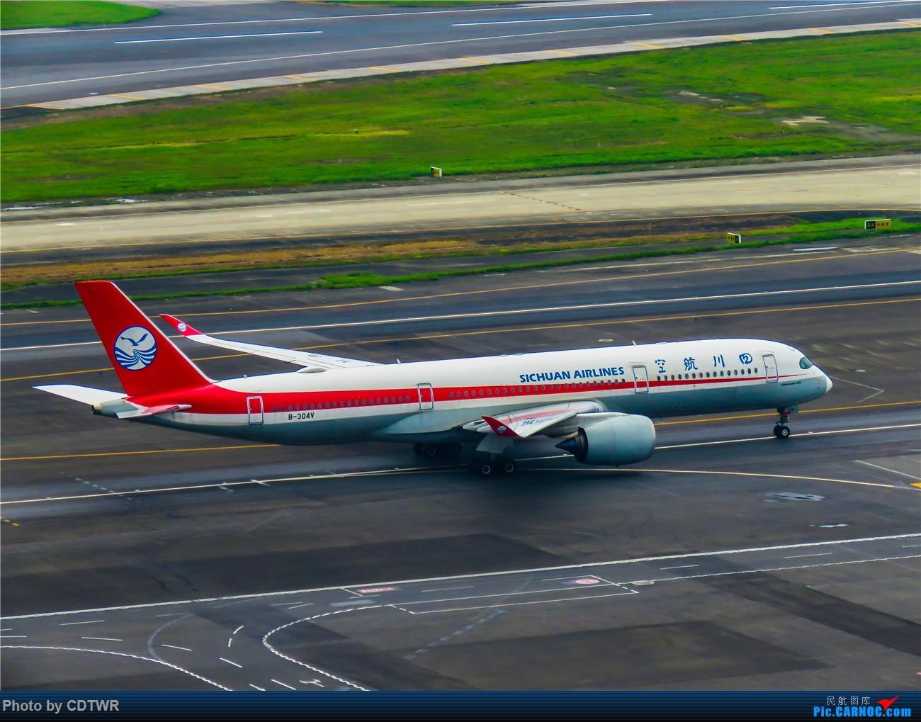 Re:[原创]换个角度拍机 成都塔台解锁 AIRBUS A350-900 B-304V 中国成都双流国际机场