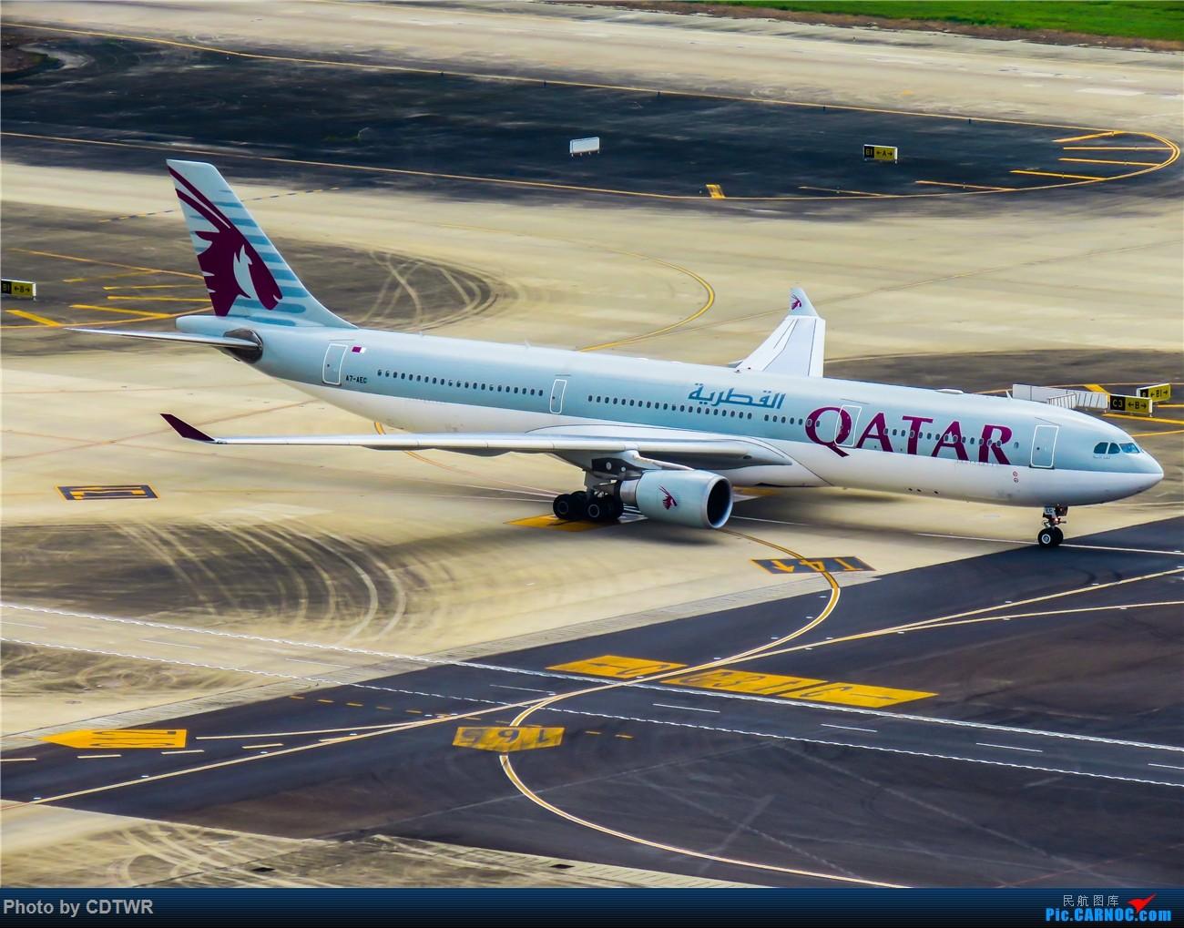 Re:[原创]换个角度拍机 成都塔台解锁 AIRBUS A330-300  中国成都双流国际机场