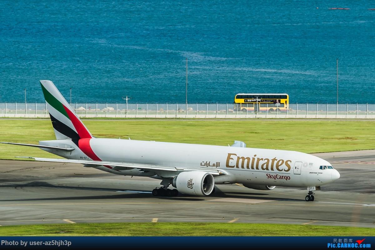 Re:[原创]飞机几片 BOEING 777F A6-EFJ 香港国际机场