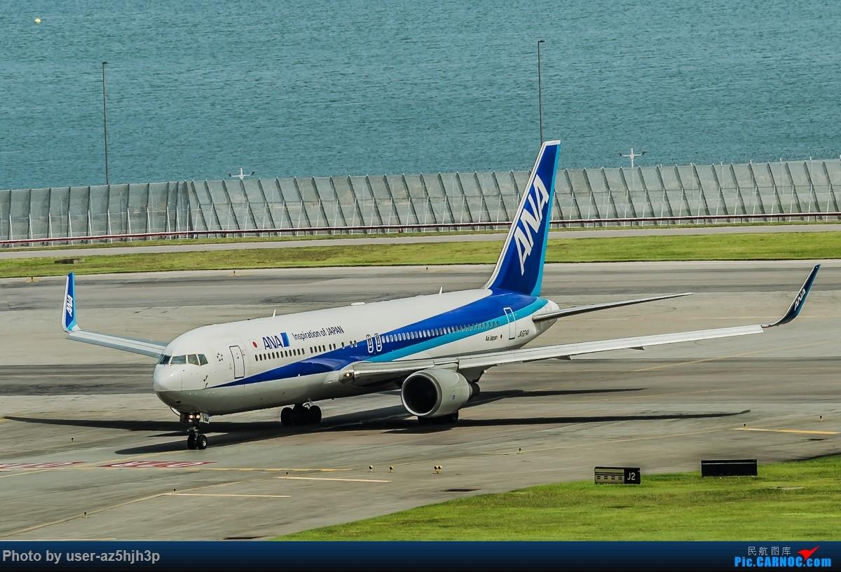 Re:[原创]飞机几片 BOEING 767-300 JA624A 香港国际机场