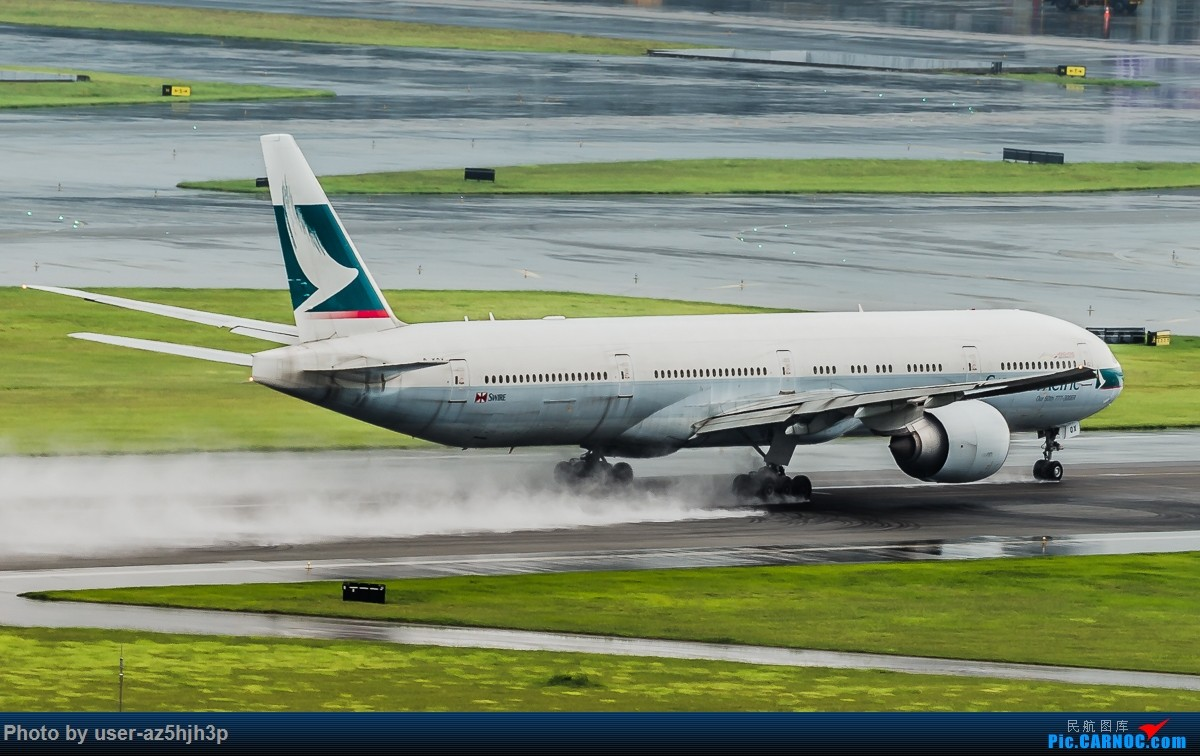 Re:[原创]飞机几片 BOEING 777-300ER B-KQX 香港国际机场
