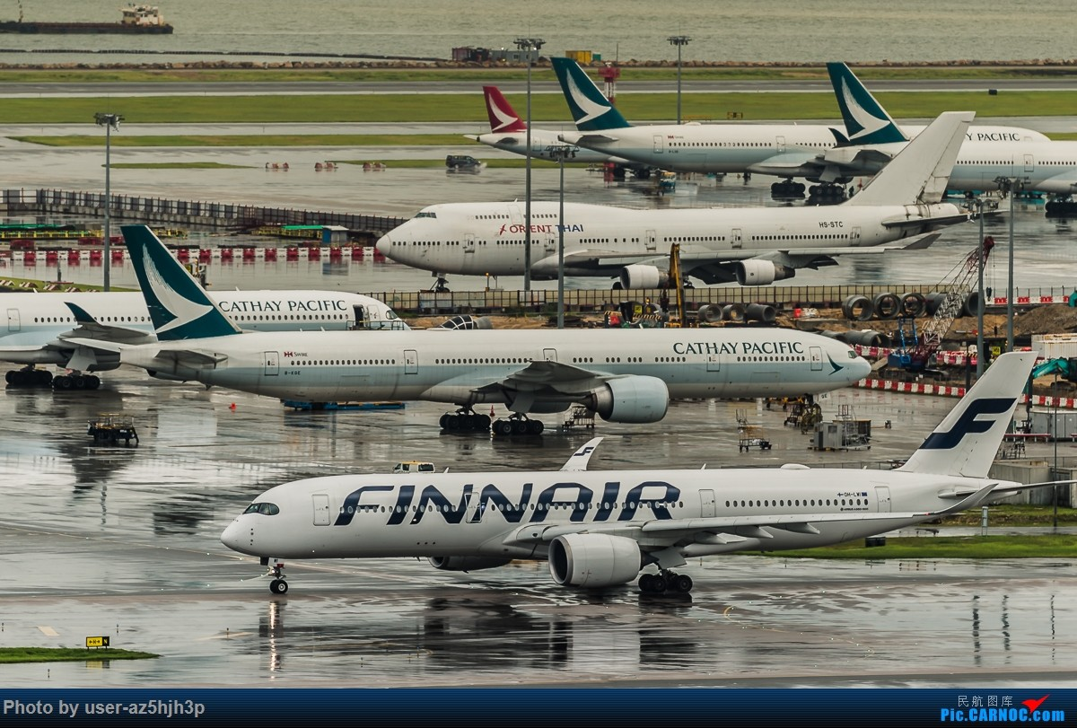 Re:[原创]飞机几片 AIRBUS A350-900 OH-LWI 香港国际机场