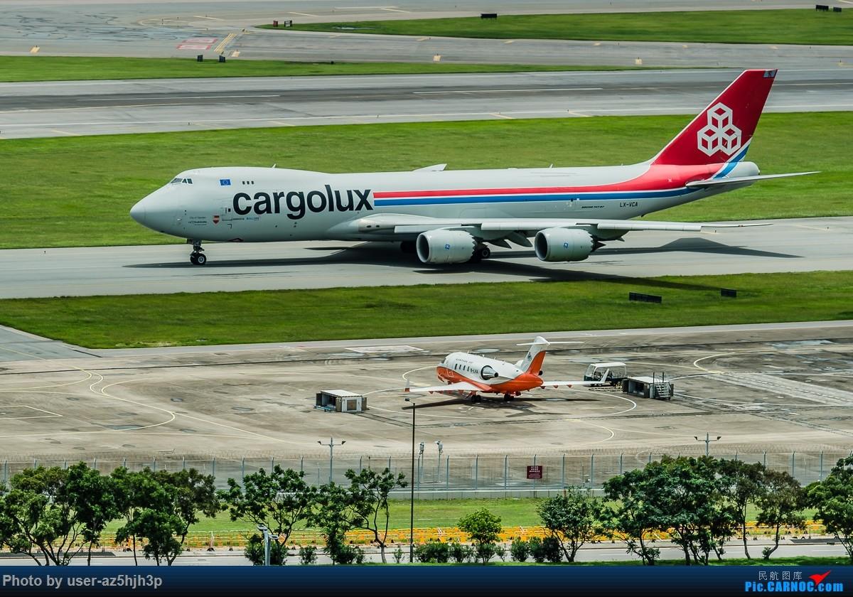 Re:[原创]飞机几片 BOEING 747-8F LX-VCA 香港国际机场