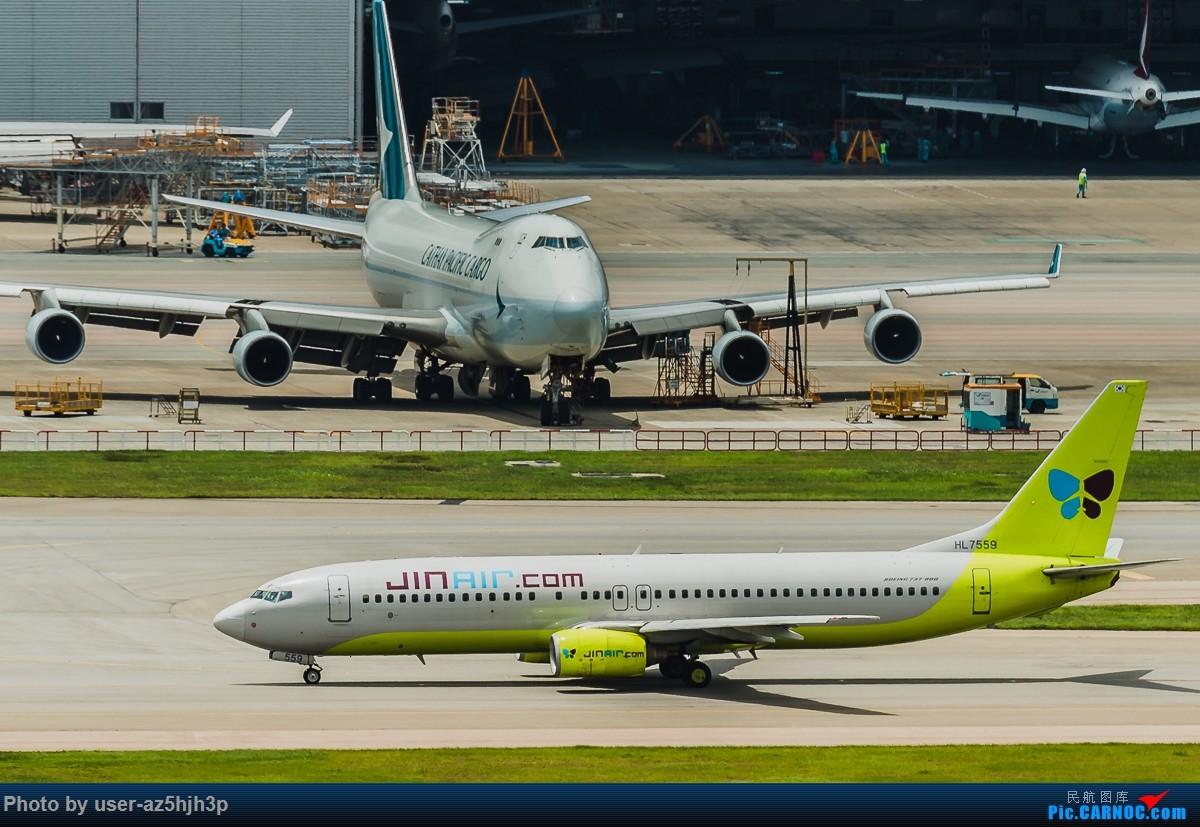 Re:[原创]飞机几片 BOEING 737-800 HL7559 香港国际机场