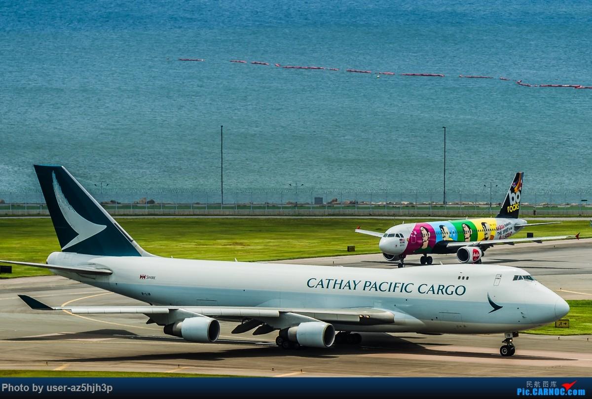 Re:[原创]飞机几片 BOEING 747-400 B-LIB 香港国际机场
