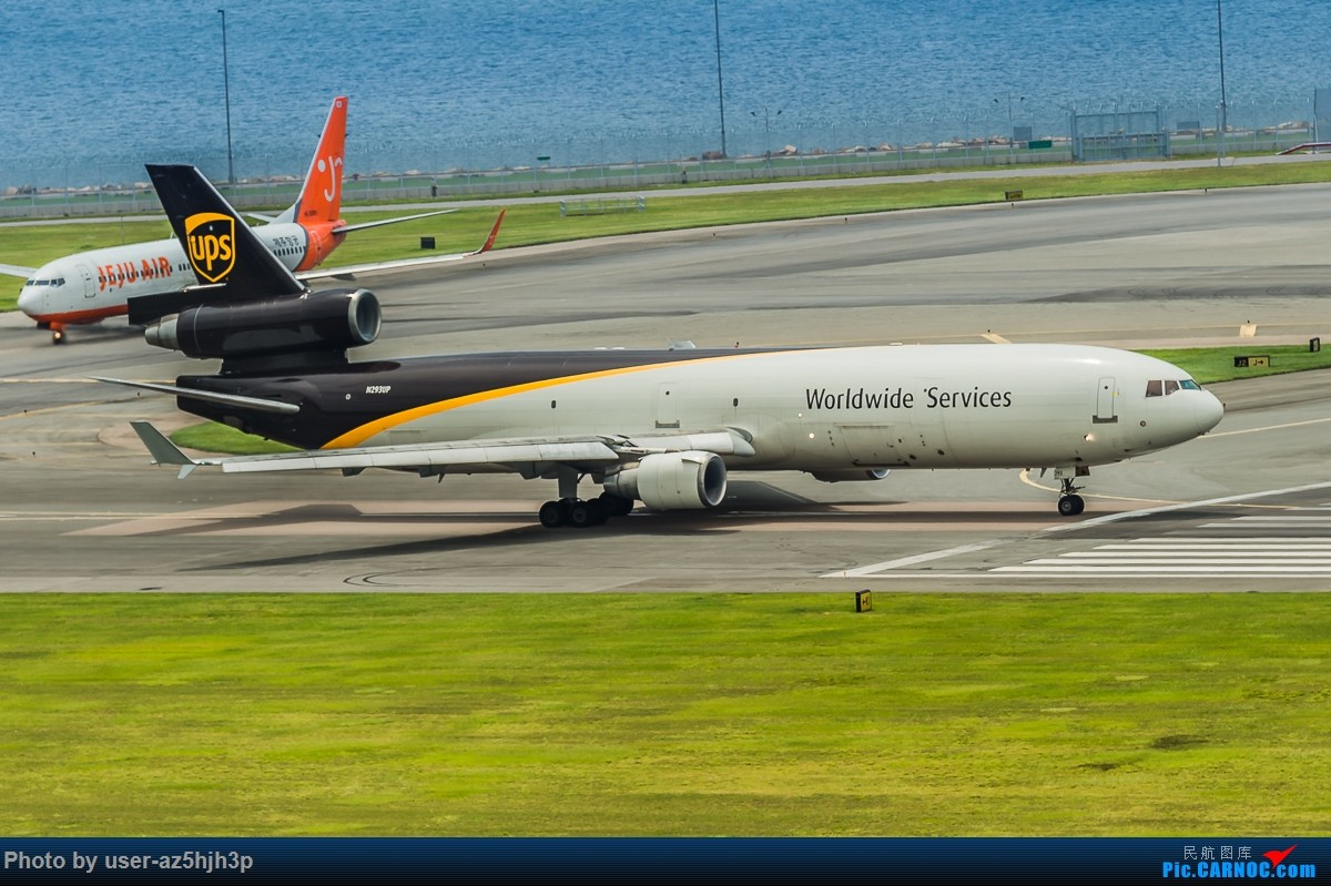 Re:[原创]飞机几片 麦道11 N293UP 香港国际机场