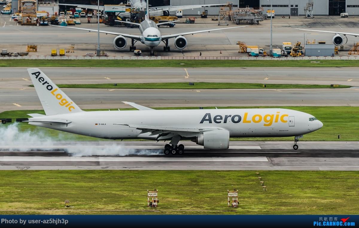 Re:[原创]飞机几片 BOEING 777F D-AALA 香港国际机场