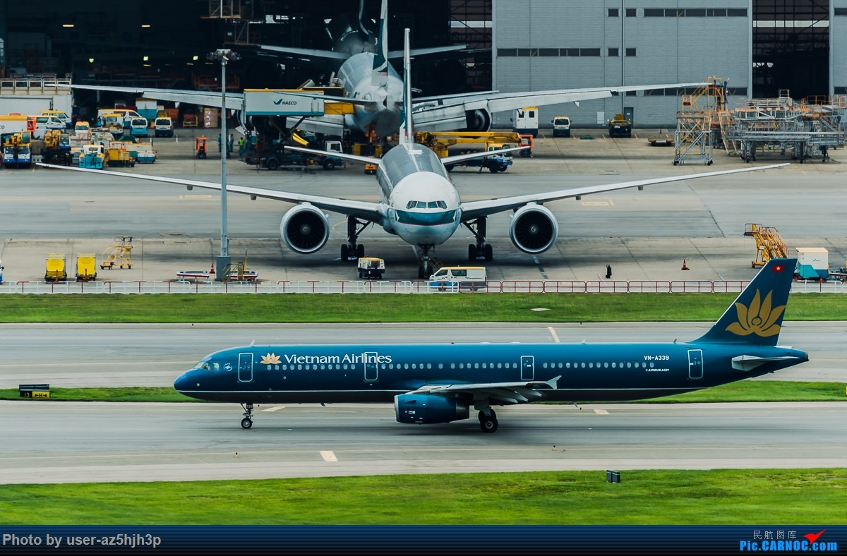 Re:[原创]飞机几片 AIRBUS A321 VN-A339 香港国际机场