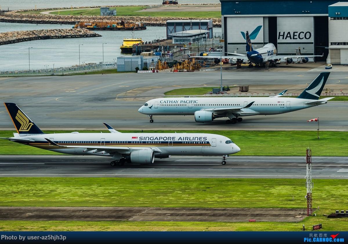 Re:[原创]飞机几片 AIRBUS A350-900 9V-SMM 香港国际机场