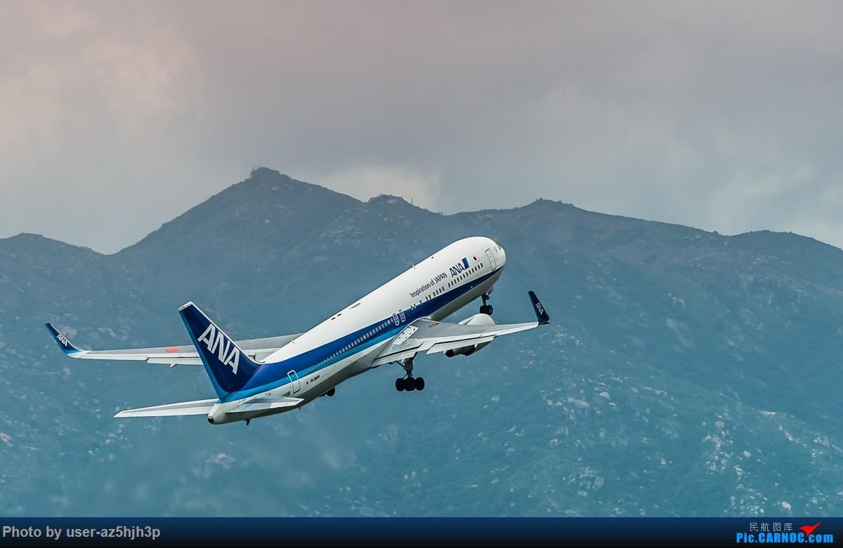 Re:[原创]飞机几片 BOEING 767-300 JA620A 香港国际机场