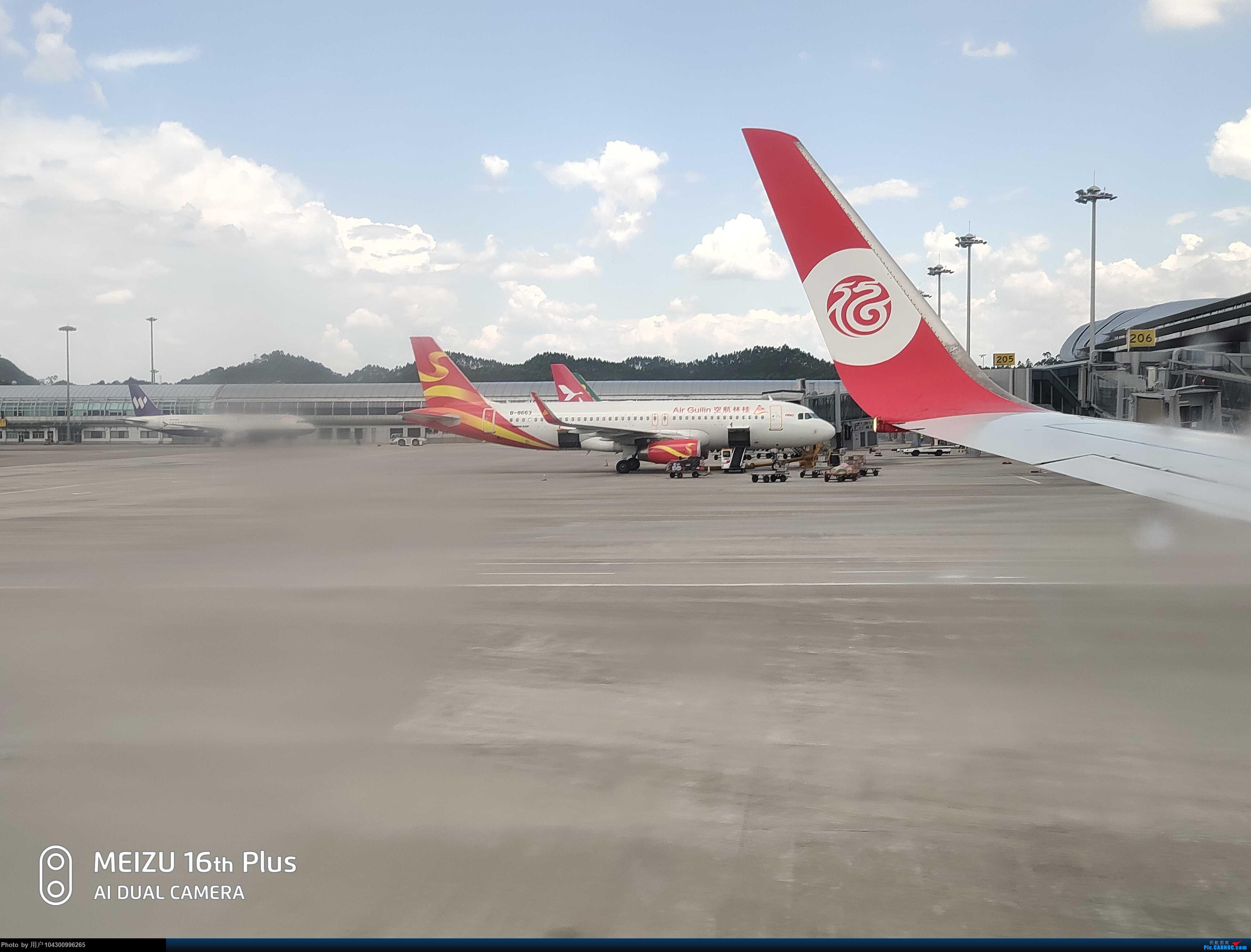Re:[原创]DM游记之FU遵义--桂林 AIRBUS A320-200 B-8663 中国桂林两江国际机场