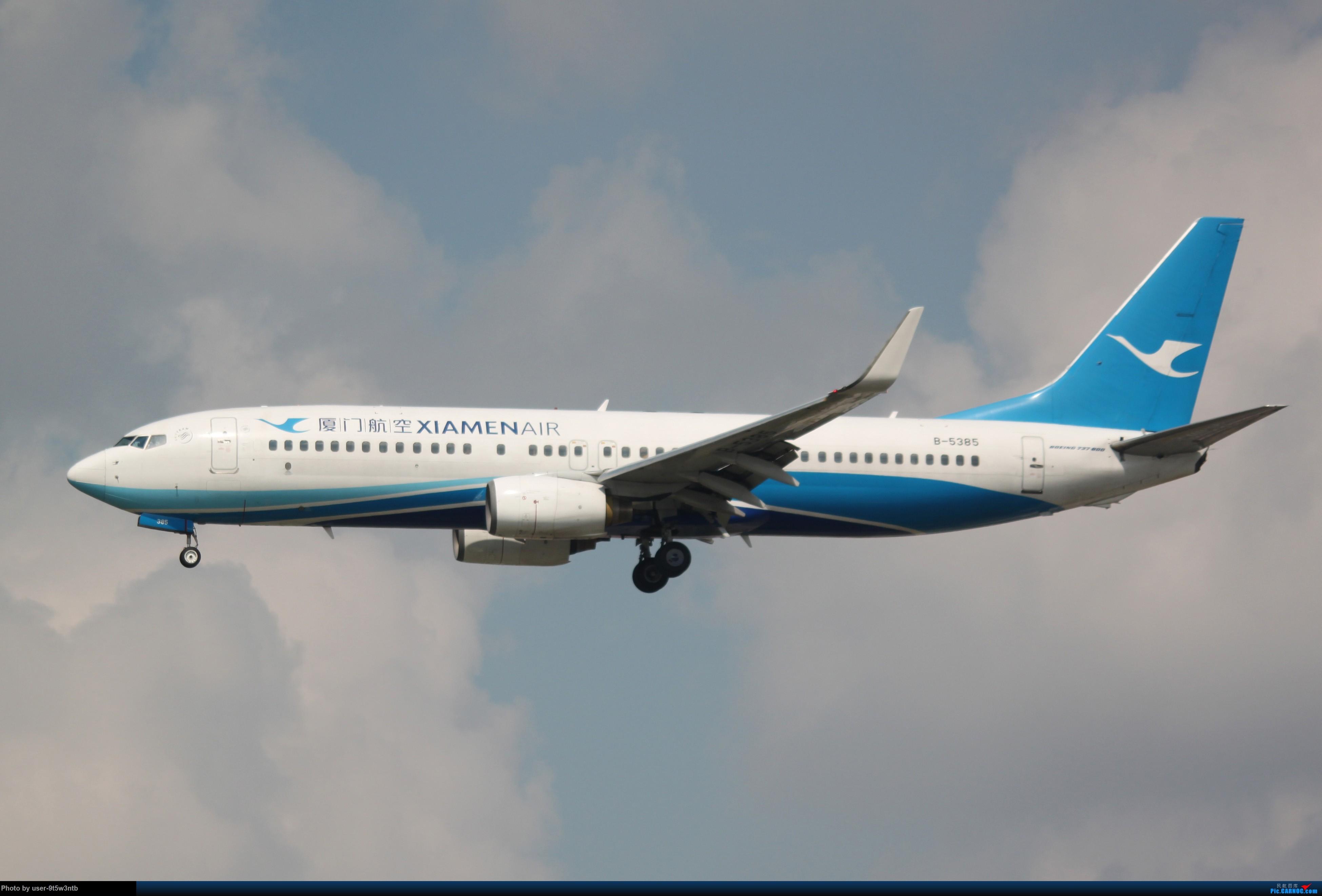 Re:[原创]虹桥机场炎热的早晨 BOEING 737-800 B-5385 中国上海虹桥国际机场