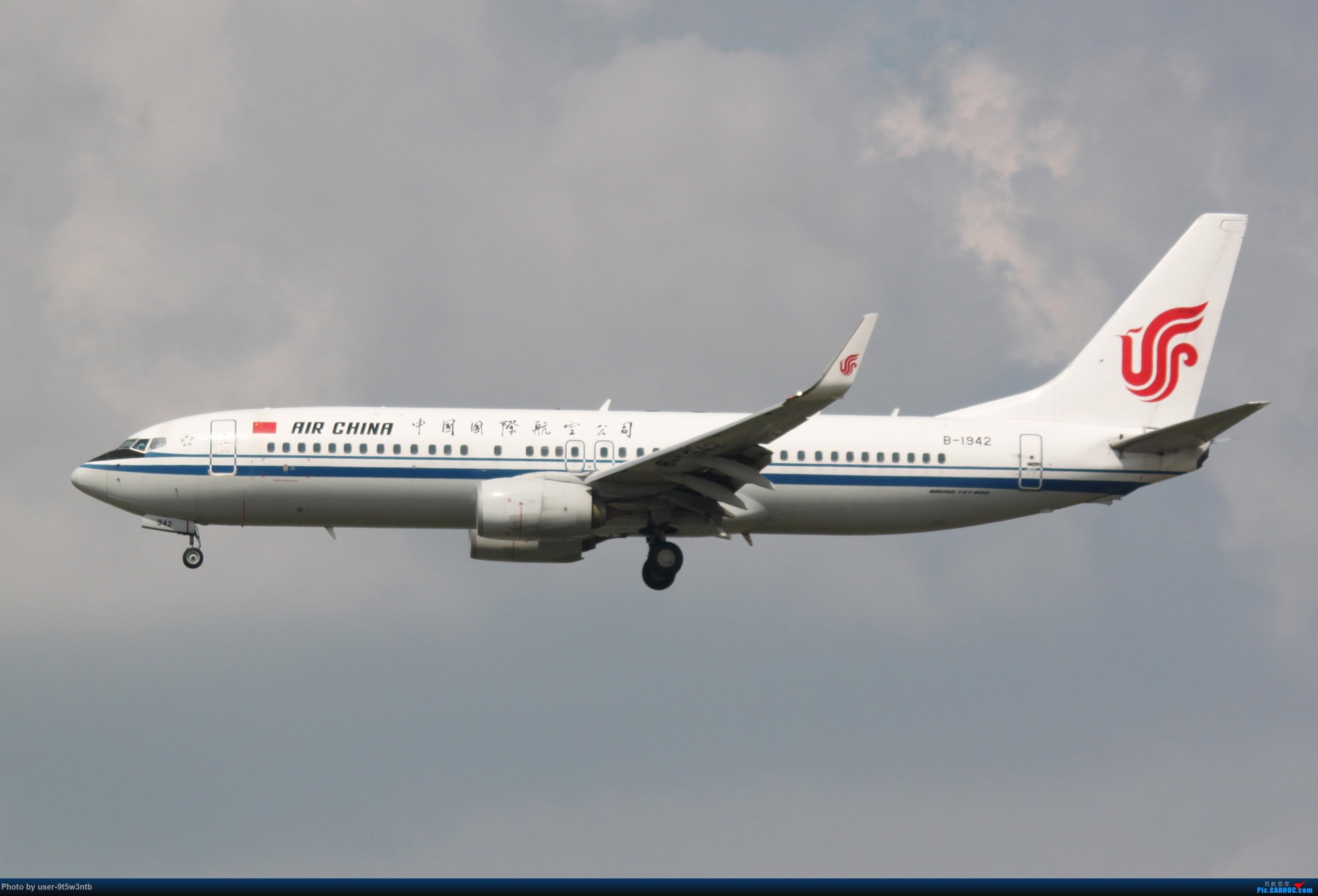 Re:[原创]虹桥机场炎热的早晨 BOEING 737-800 B-1942 中国上海虹桥国际机场