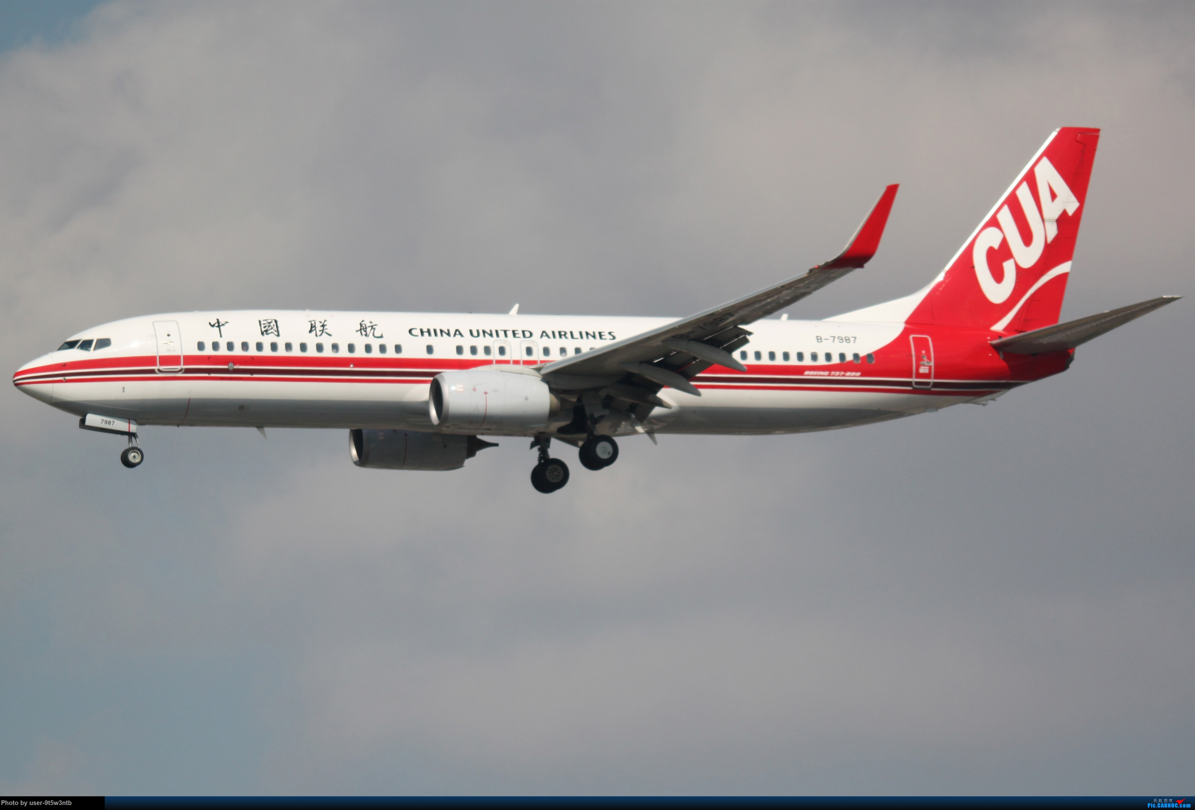 Re:[原创]虹桥机场炎热的早晨 BOEING 737-800 B-7987 中国上海虹桥国际机场