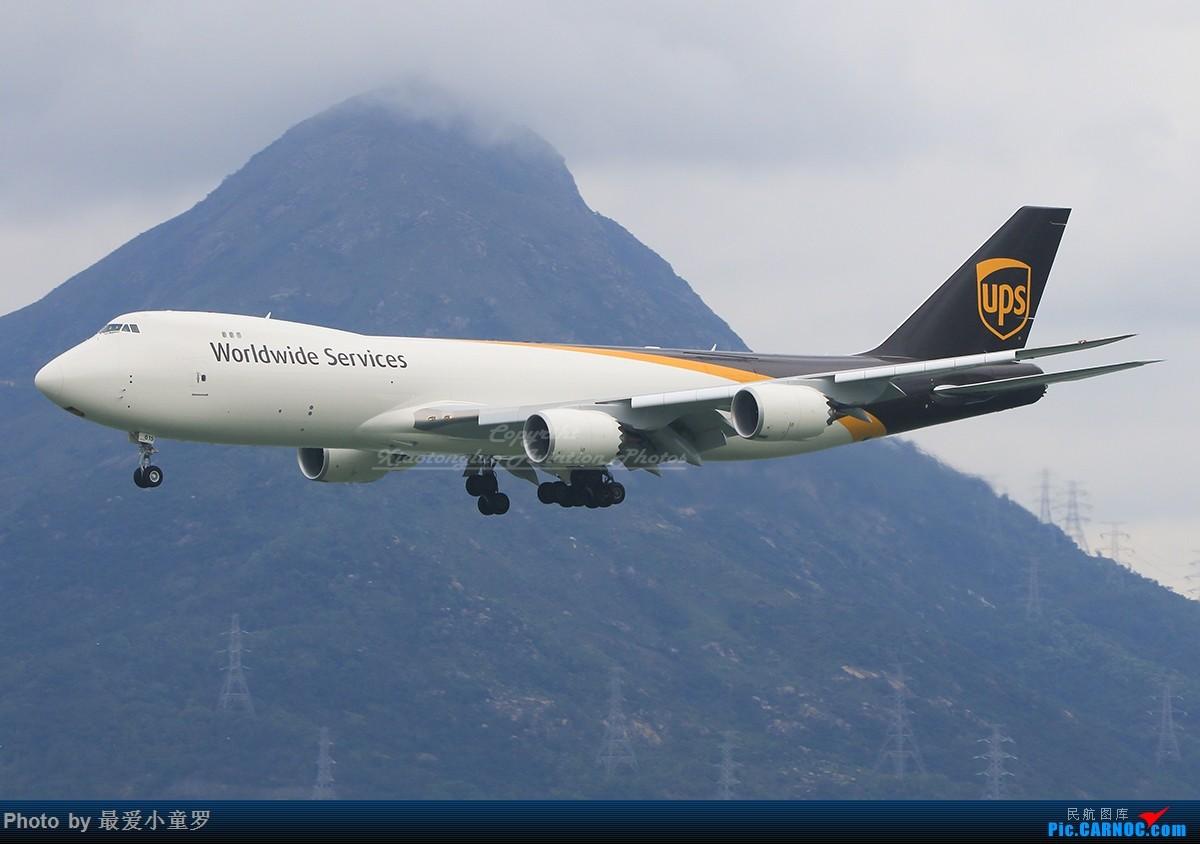 Re:[原创]冒泡党——风 雨 香港 路 BOEING 747-8F N615UP 中国香港国际机场