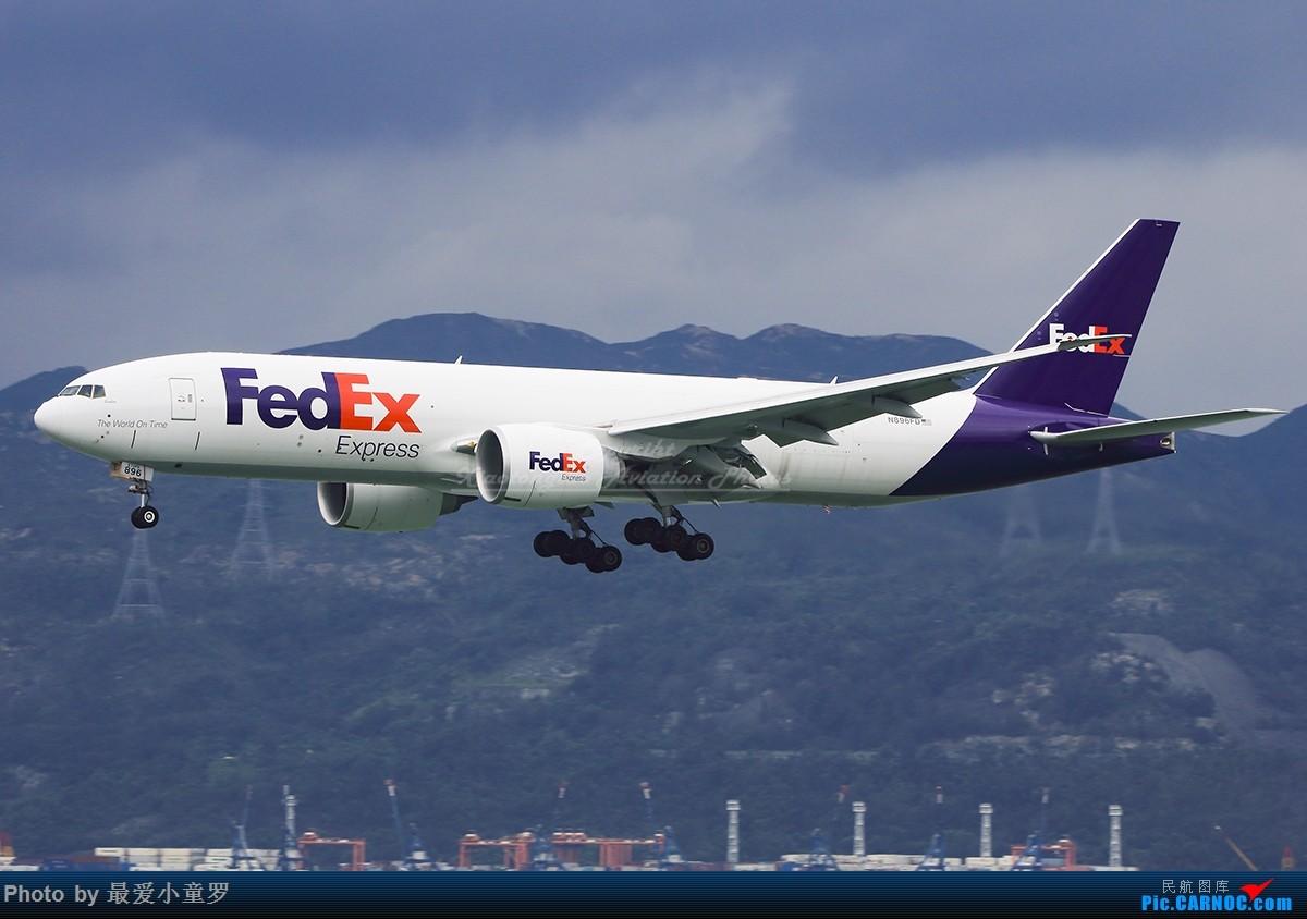 Re:[原创]冒泡党——风 雨 香港 路 BOEING 777F N895FD 中国香港国际机场