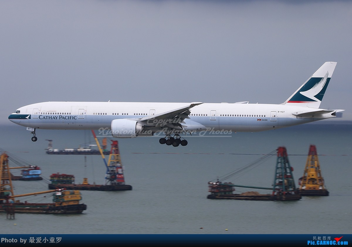 Re:[原创]冒泡党——风 雨 香港 路 BOEING 777-300ER B-KQT 中国香港国际机场