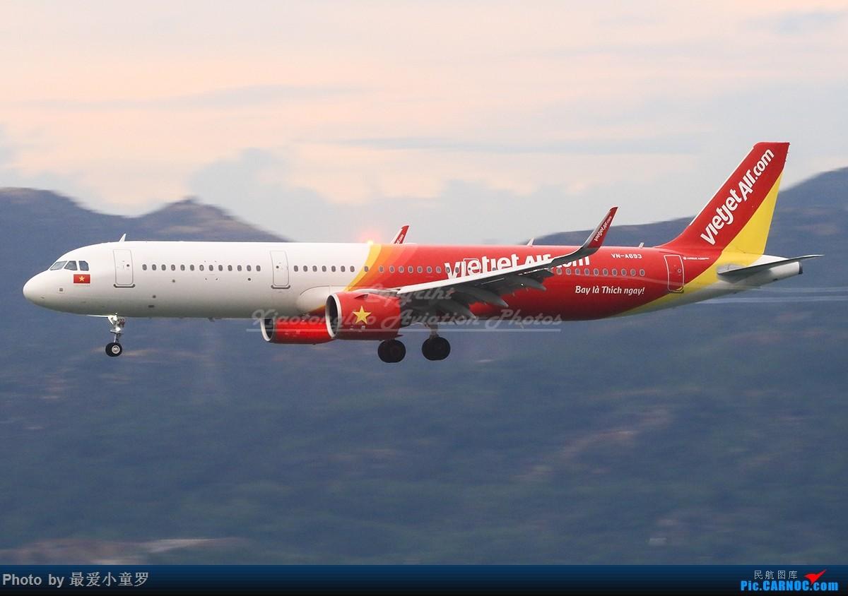 Re:[原创]冒泡党——风 雨 香港 路 AIRBUS A321NEO VN-A693 中国香港国际机场