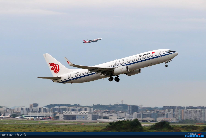 Re:[原创]CKG拍机(2019暑期3跑拍机图集) BOEING 737-800 B-1942 重庆江北国际机场