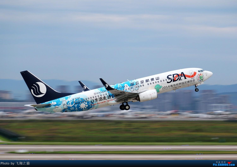 [原创]CKG拍机(2019暑期3跑拍机图集) BOEING 737-800 B-5787 重庆江北国际机场