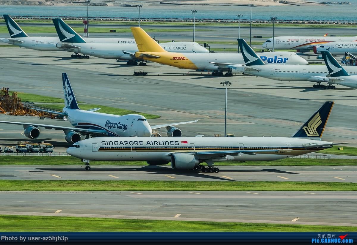 Re:[原创]走起  沙螺湾 BOEING 777-300 9V-SNA 香港国际机场