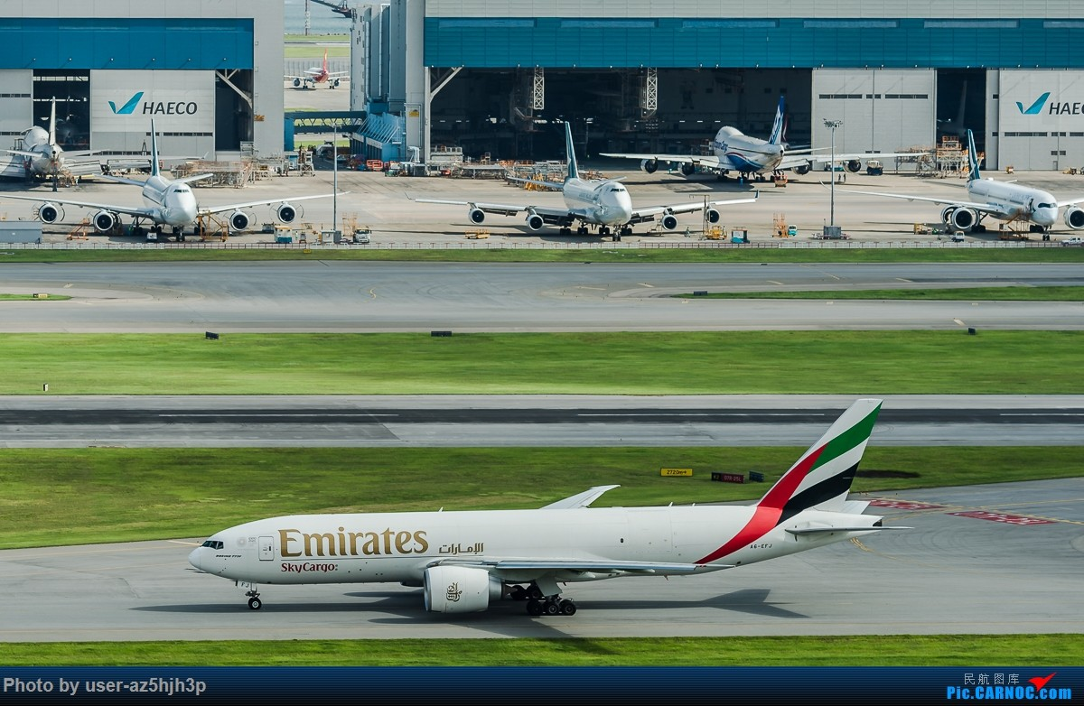 Re:[原创]走起  沙螺湾 BOEING 777F A6-EFJ 香港国际机场