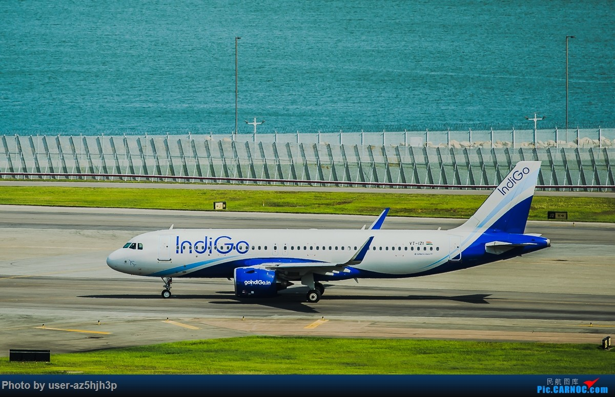Re:[原创]走起  沙螺湾 AIRBUS A320NEO VT-IZI 香港国际机场