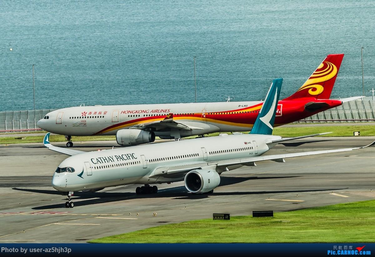 Re:[原创]走起  沙螺湾 AIRBUS A350-900 B-LRG 香港国际机场
