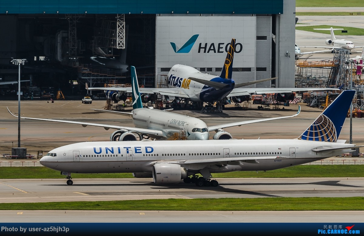 Re:[原创]走起  沙螺湾 BOEING 777-200 N79011 香港国际机场