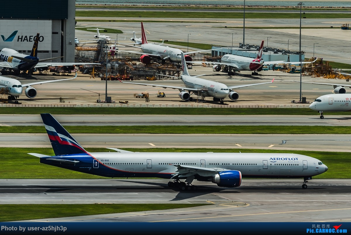 Re:走起  沙螺湾 BOEING 777-300ER VQ-BQD 香港国际机场