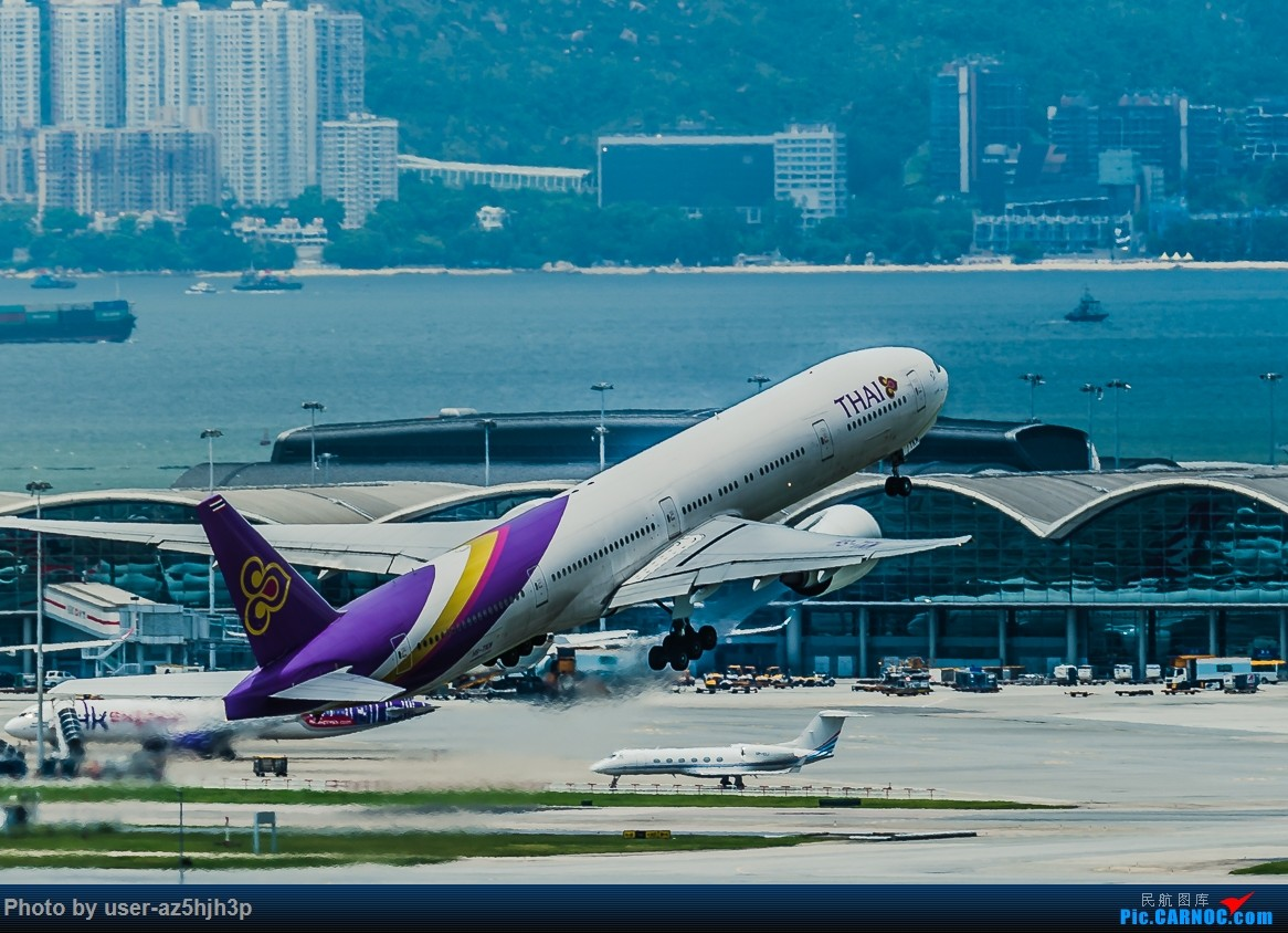 Re:[原创]走起  沙螺湾 BOEING 777 HS-TKM 香港国际机场