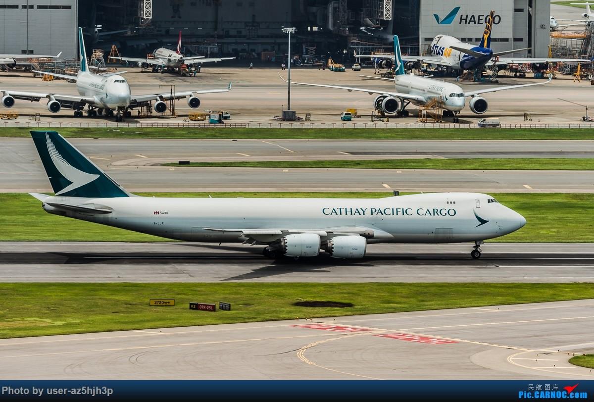 Re:[原创]走起  沙螺湾 BOEING 747-8F B-LJF 香港国际机场