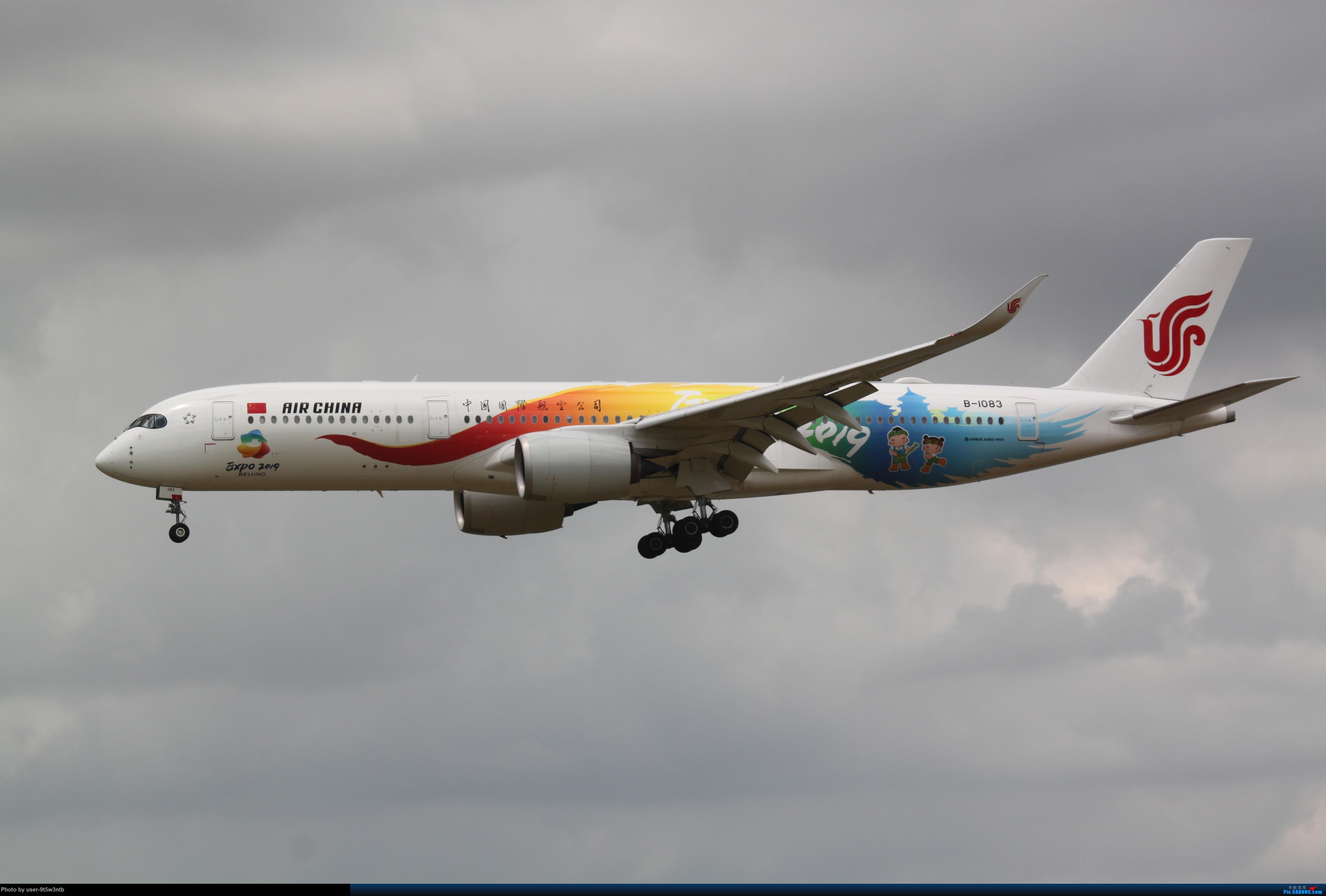 Re:[原创]来整理下最近在虹桥拍到的彩绘机吧~ AIRBUS A350-900 B-1083 中国上海虹桥国际机场