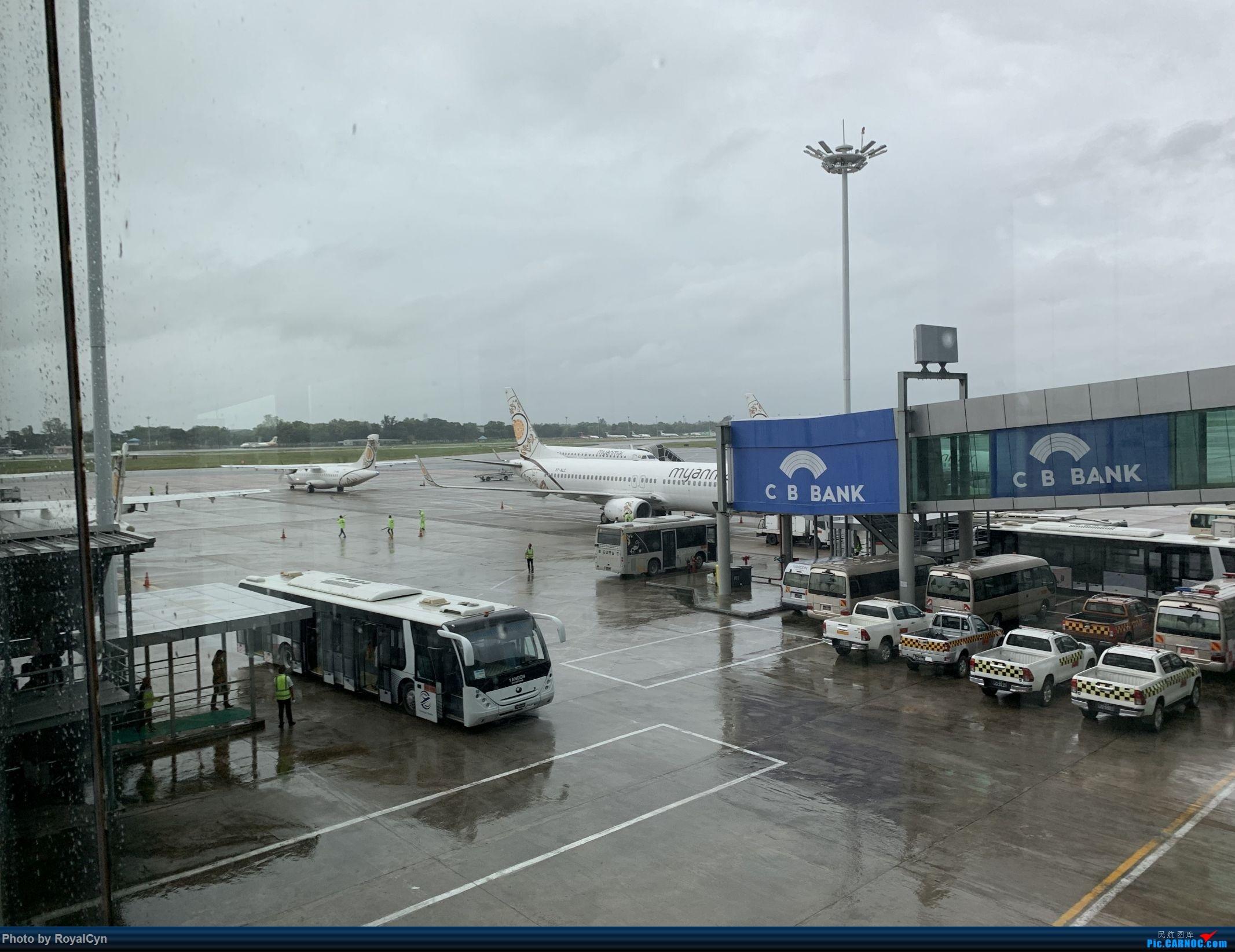 Re:[原创]Royal游记No.3【佛塔国度狂想曲——棉麻国缅甸】三城6日游 BOEING 737-800 XY-ALC 缅甸仰光机场