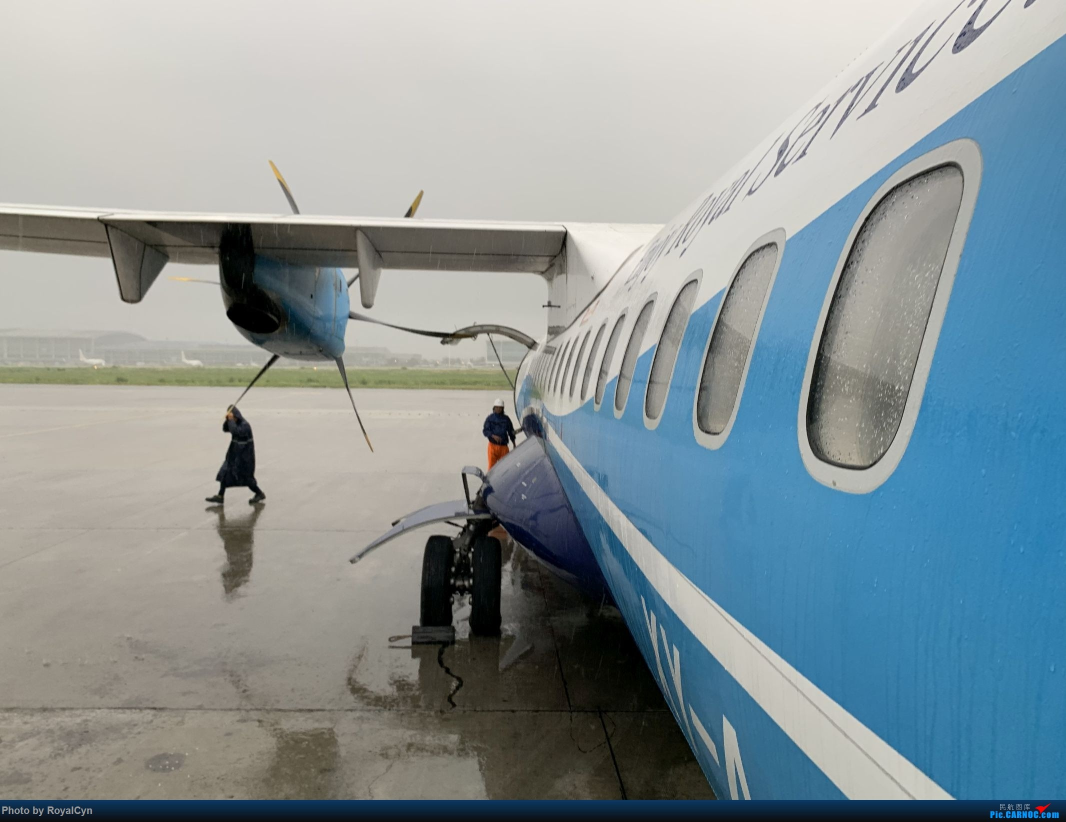 Re:[原创]Royal游记No.3【佛塔国度狂想曲——棉麻国缅甸】三城6日游 ATR-72 XY-AJO 缅甸仰光机场