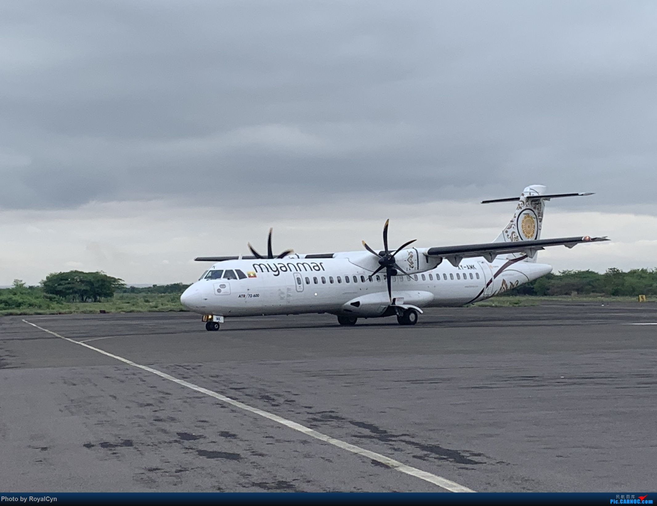 Re:[原创]Royal游记No.3【佛塔国度狂想曲——棉麻国缅甸】三城6日游 ATR-72 XY-AWK 缅甸良乌机场