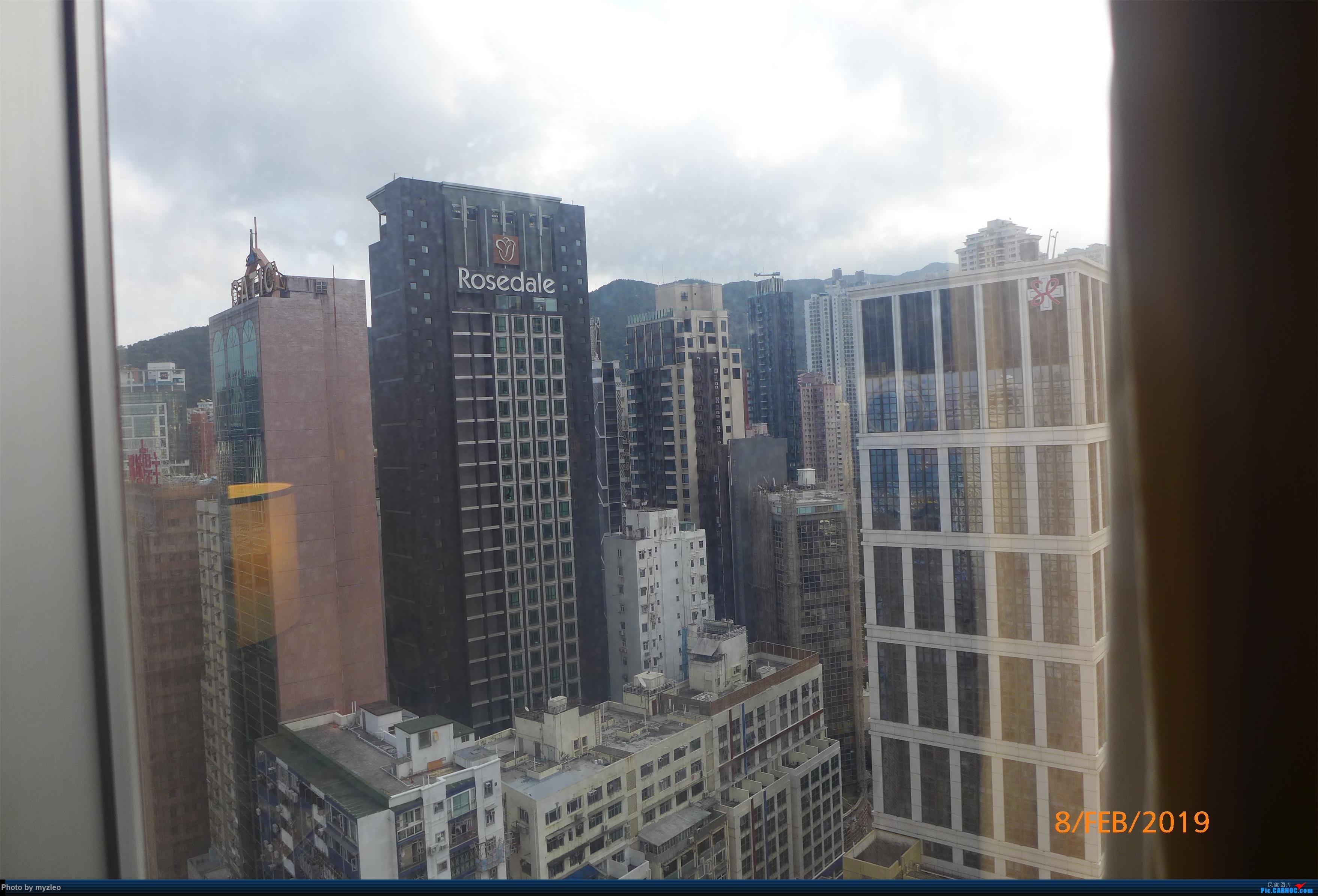 [原创]【myzleo的游记4.5】十年之约(5)在香港的最后一天,搭乘港航333回沪