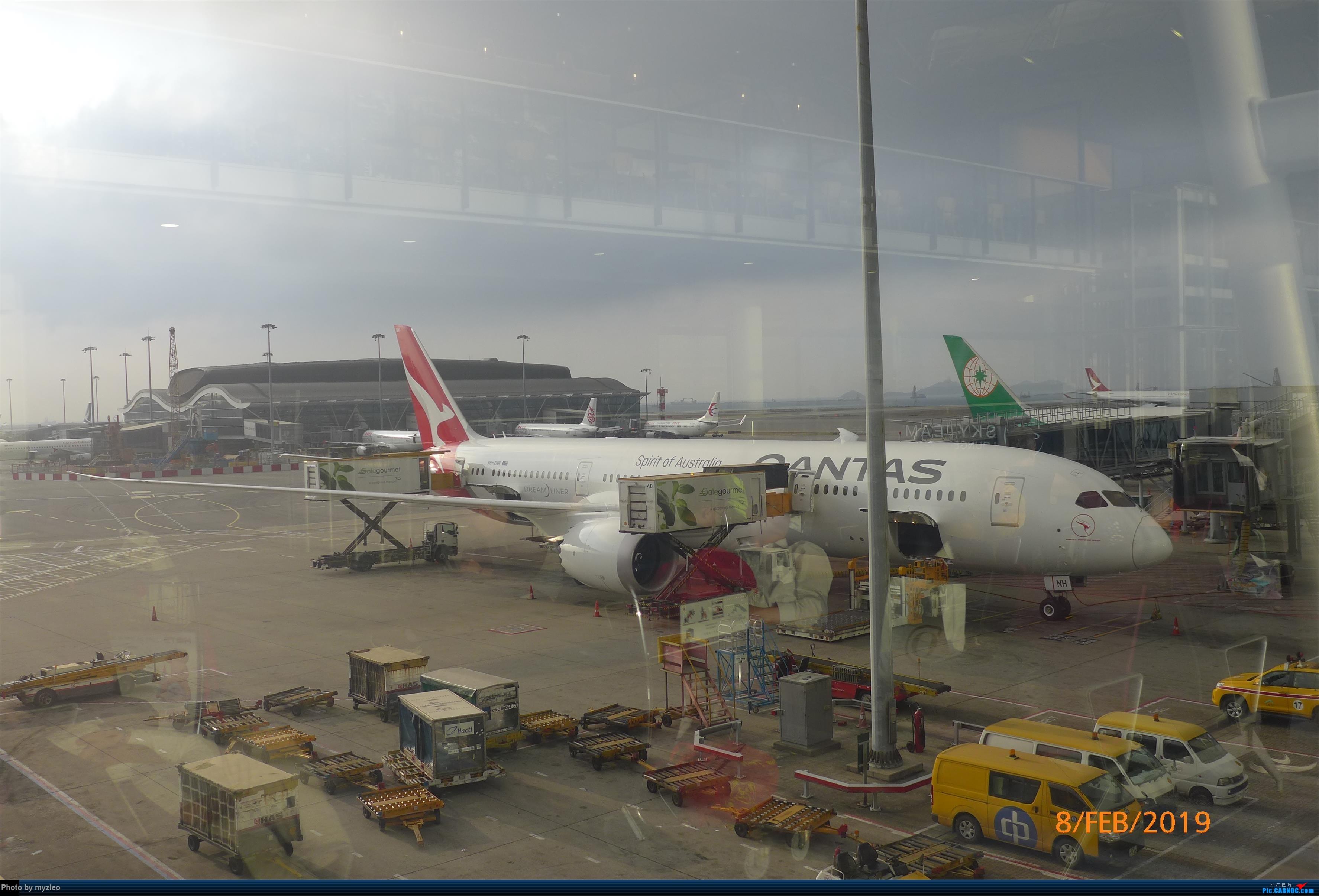 Re:[原创]【myzleo的游记4.5】十年之约(5)在香港的最后一天,搭乘港航333回沪 BOEING 787-9 VH-ZNH 中国香港国际机场