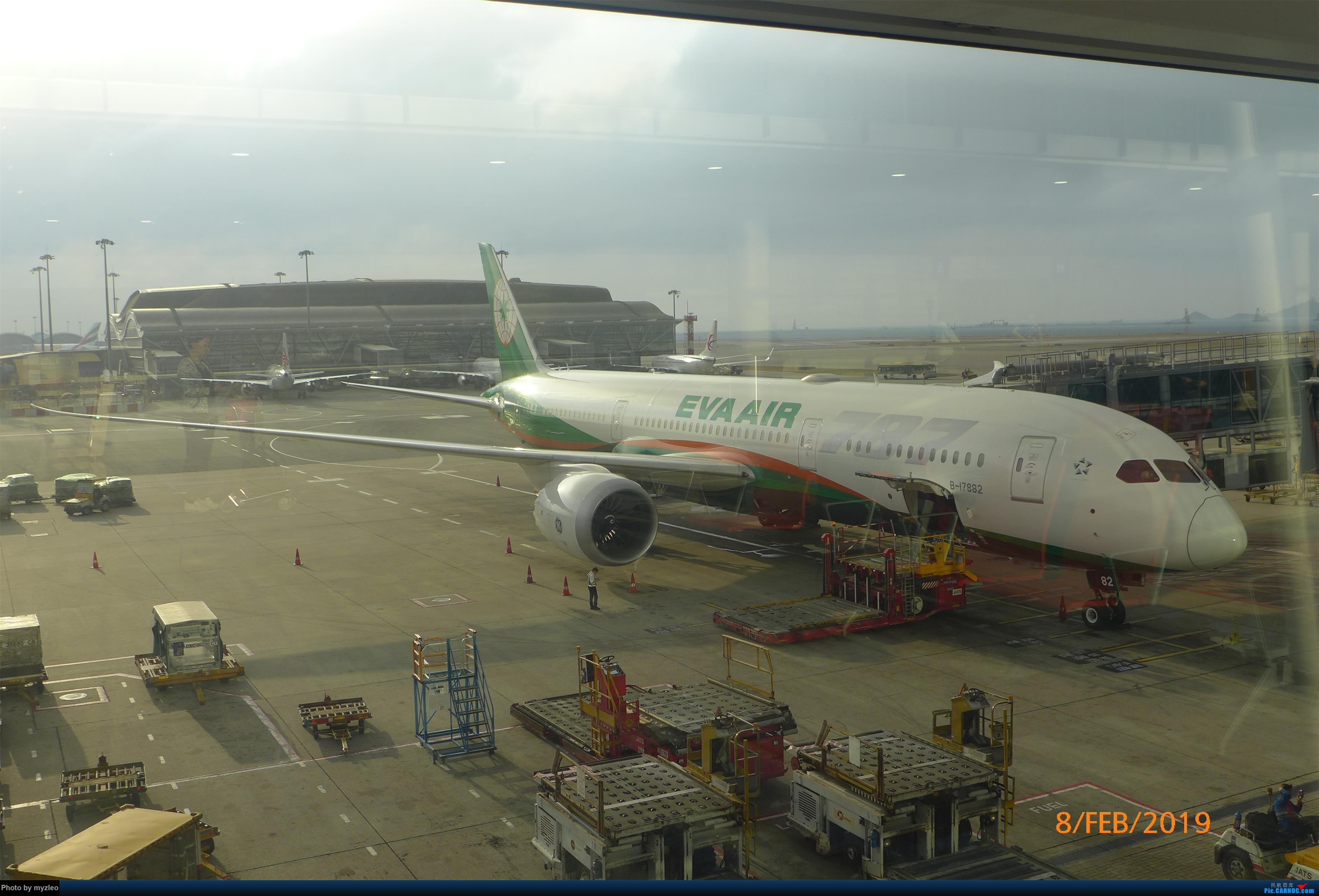 Re:【myzleo的游记4.5】十年之约(5)在香港的最后一天,搭乘港航333回沪 BOEING 787-9 B-17882 中国香港国际机场