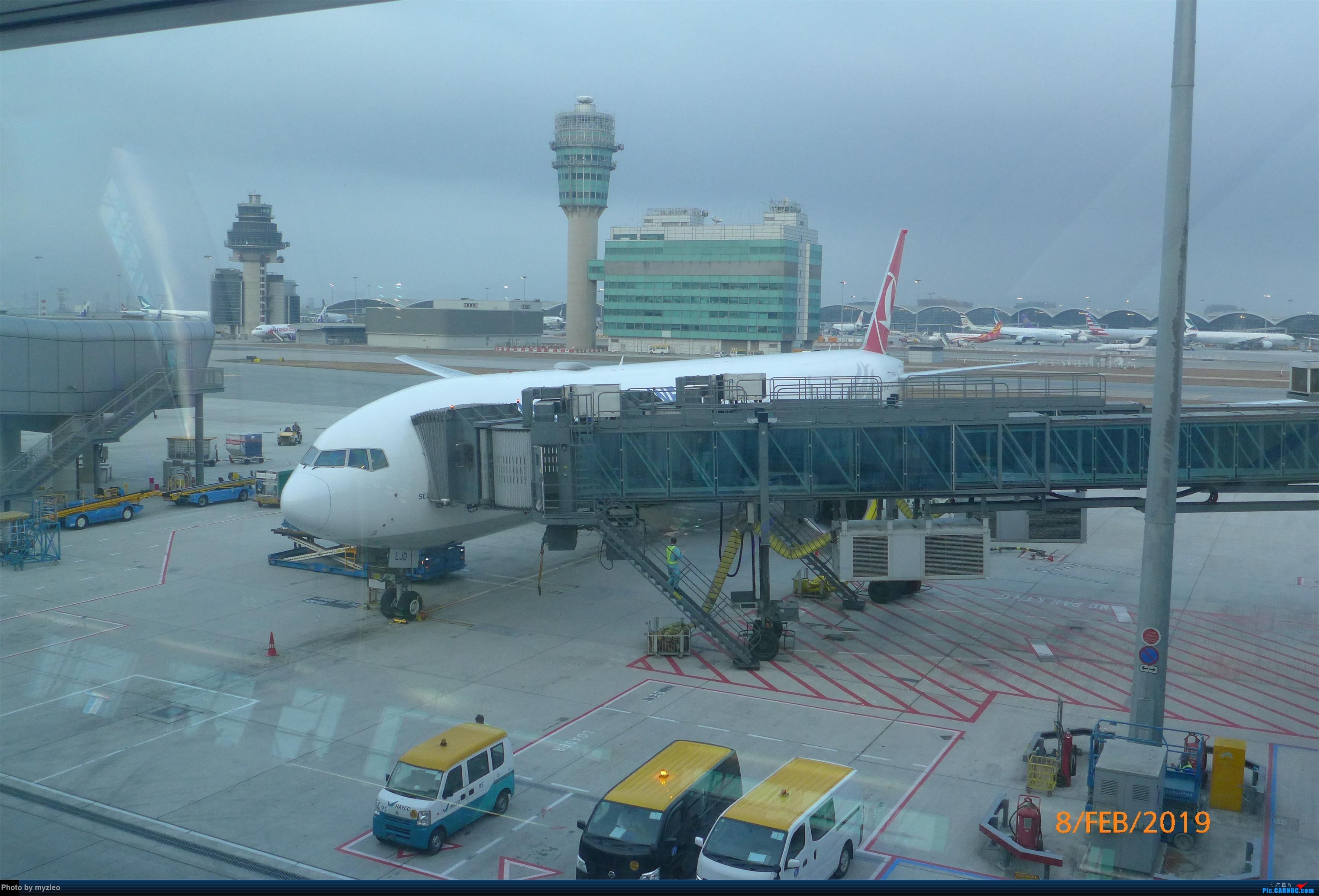 Re:[原创]【myzleo的游记4.5】十年之约(5)在香港的最后一天,搭乘港航333回沪 BOEING 777-300ER  中国香港国际机场