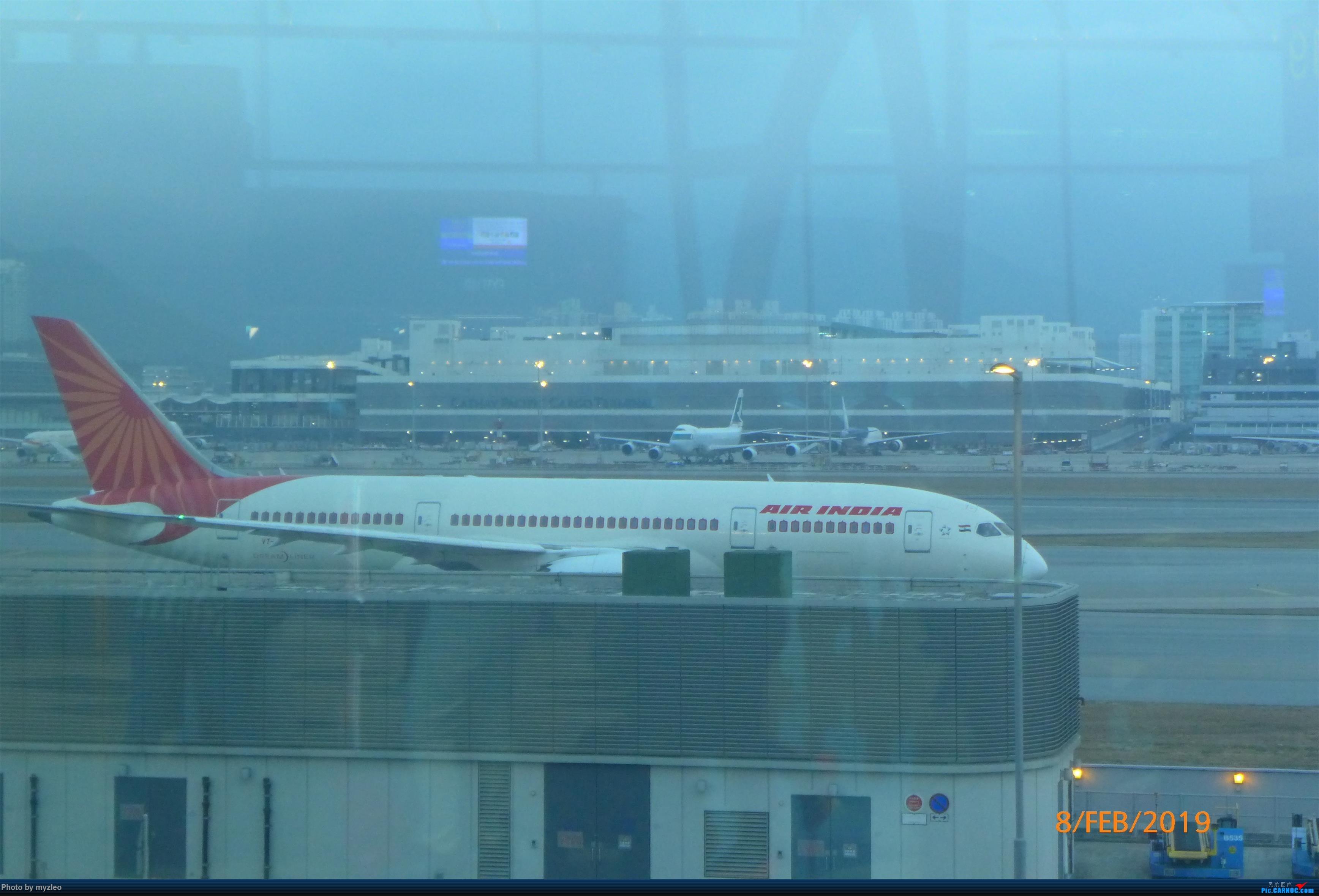 Re:[原创]【myzleo的游记4.5】十年之约(5)在香港的最后一天,搭乘港航333回沪 BOEING 787-8  中国香港国际机场