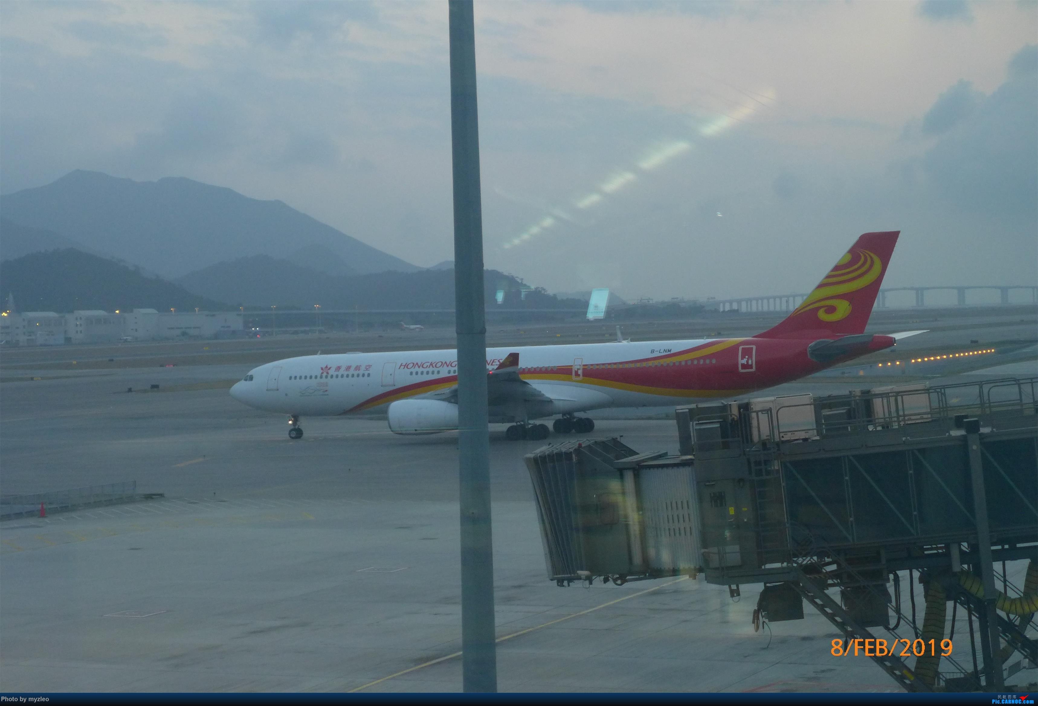 Re:[原创]【myzleo的游记4.5】十年之约(5)在香港的最后一天,搭乘港航333回沪 AIRBUS A330-300 B-LNM 中国香港国际机场