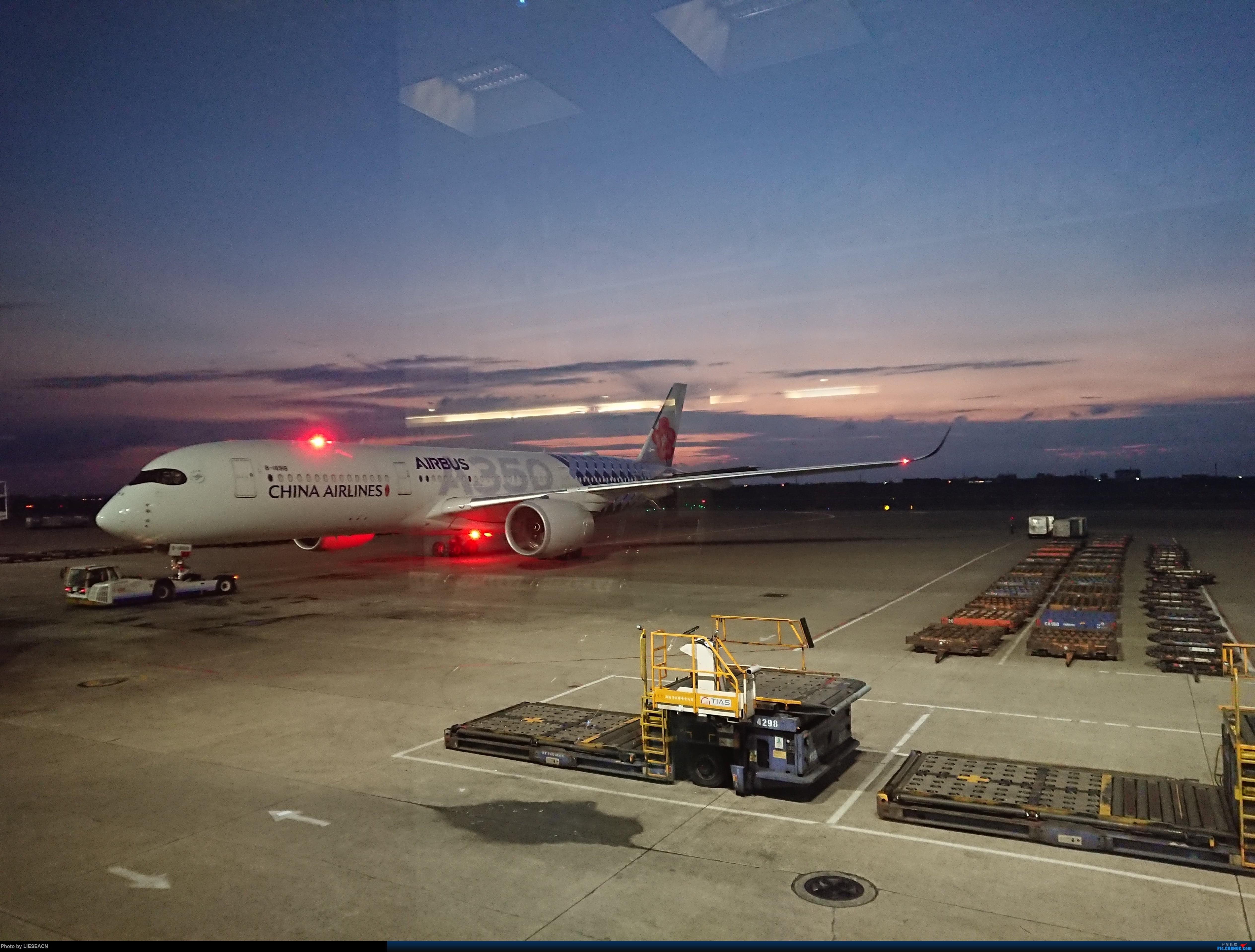Re:[原创]偶遇华航359碳纤维 AIRBUS A350-900 B-18918 中国台北桃园国际机场
