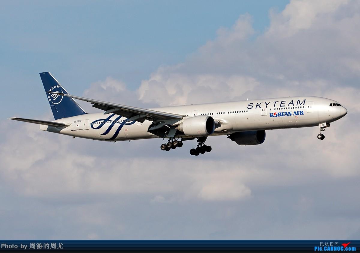 Re:[原创]好天气遛个弯 BOEING 777-300ER HL7783 中国上海虹桥国际机场