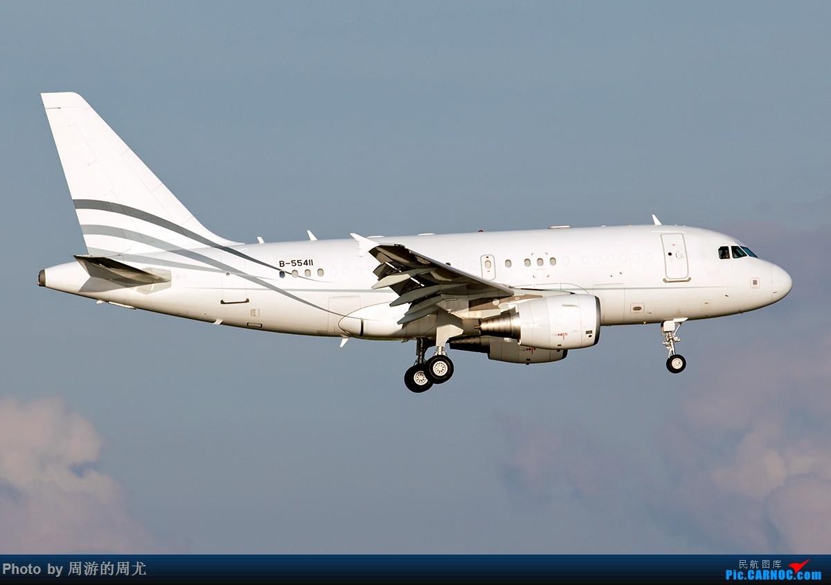 Re:[原创]好天气遛个弯 AIRBUS A318 B-55411 中国上海虹桥国际机场