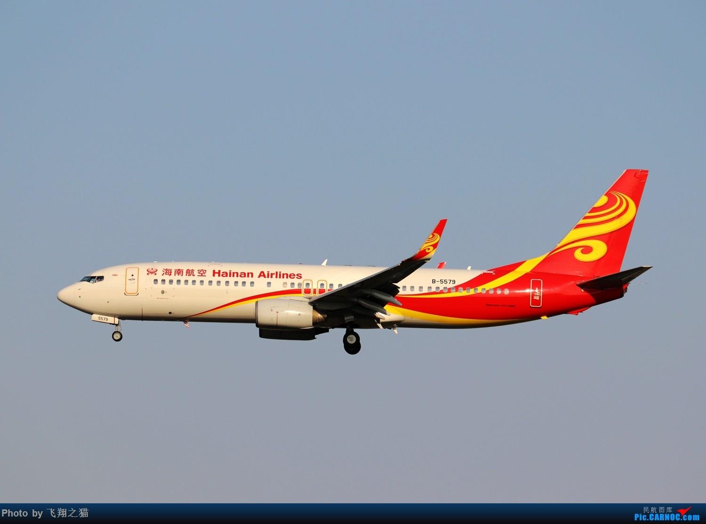 Re:[原创]CKG拍机(2019战高温2跑下滑道拍机) BOEING 737-800 B-5579 重庆江北国际机场